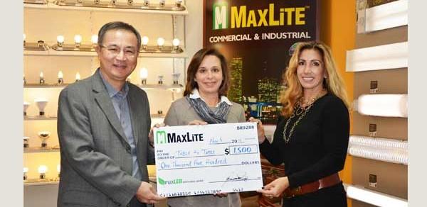 MaxLite Donates to New Jersey Food Rescue Program
