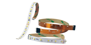 Nora Introduces Three New LED Tape Light Options: White Band Tape, 90+ CRI and Side-Lit Models