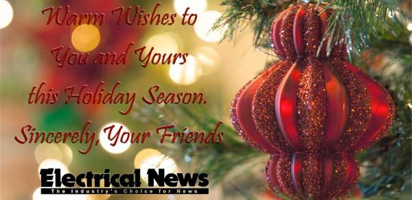 Happy Holidays from Electrical News