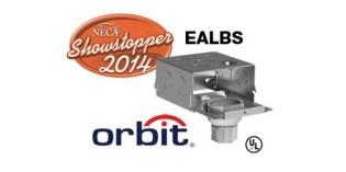 Orbit Easy Access Lighting Box (EALBS) Wins NECA 2014 Showstopper Award