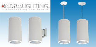 NORA LIGHTING INTRODUCES DECORATIVE LED CYLINDER WITH FOUR MOUNTING STYLES
