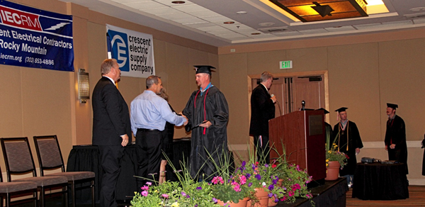 73 Graduates from the Class of 2015 IECRM Electrical Apprentice