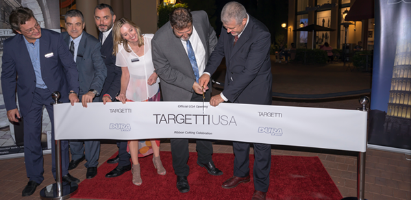TARGETTI USA Holds Ribbon Cutting Ceremony to Officially Launch New U.S. Operations