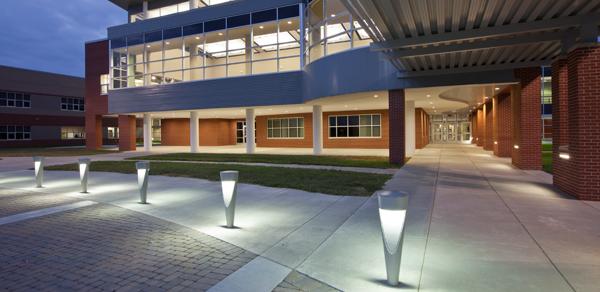 Tornado Bollard Gets High Marks for Design and Durability at Kentucky's Mccracken High School