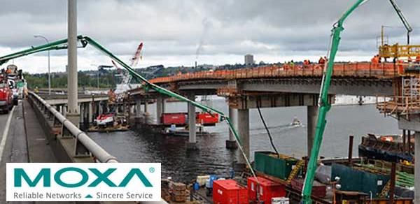 Moxa Computers Control Lighting on World's Longest Floating Bridge