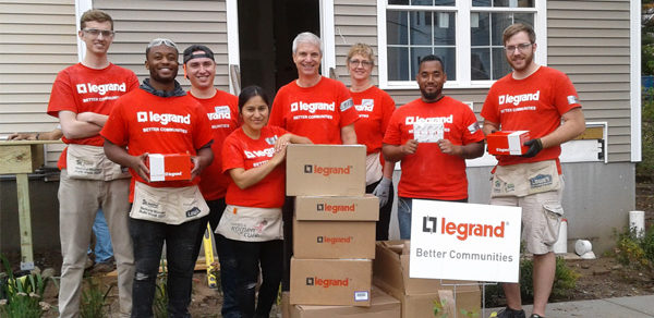 Legrand Expands Reach of Better Communities Program: Over $550K in Financial and Product in Donations in 2017