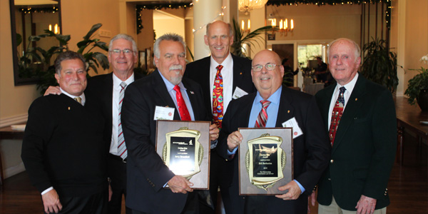The Ben Franklin Electric Club of Northern California Honors Two Golden Kite Award Recipients
