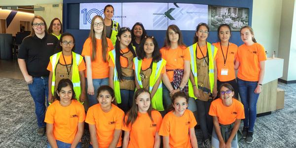 Rosendin Sponsors Austin's First Construction Camp For Girls