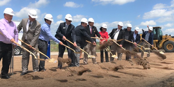 Border States Breaks Ground on a New Branch in Grand Forks ND