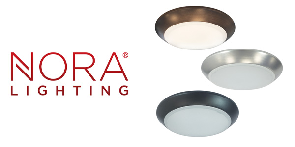 "Nora Lighting AC Opal Series Now Available in Three Sizes: 4"", 6"" And 8"""