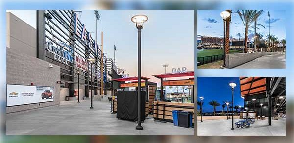 Fan experience is illuminated at award-winning baseball park