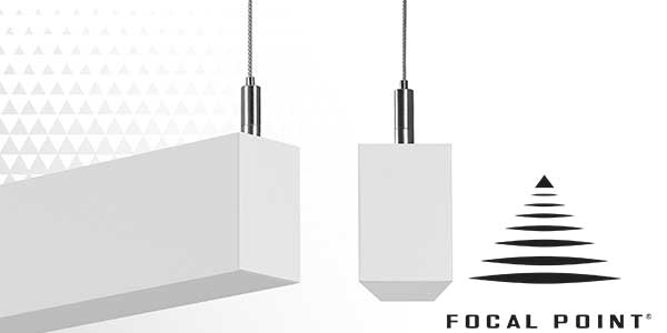 Focal Point Expands Seem 1 Family with Indirect Suspended and Wall Mount Luminaires
