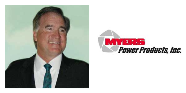 Robert Sellons Joins Myers Power Products as LV Sales Application Manager