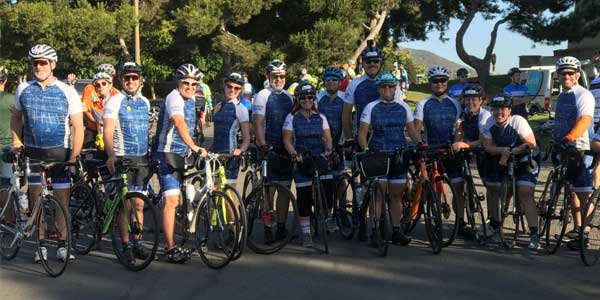 Rosendin's Cycling Team Raises More Than $20,000 for National MS Society