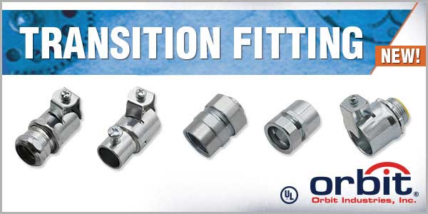 Orbit Adds Double-Bite Couplings & Connectors to Combination Fittings Line