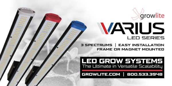 New Plant Modular LED Grow Lights from Barron Lighting Group