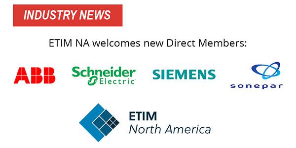 ETIM North America Welcomes New Members