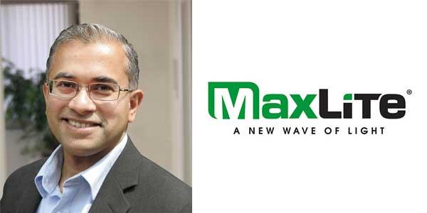 MaxLite Names Umesh Baheti Senior Vice President of Product Management, Engineering and Supplier Relations