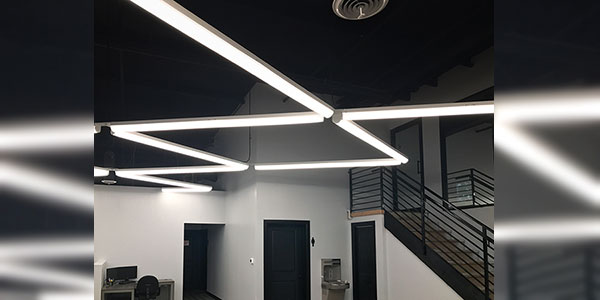 City Electric Supply Teamed up with Tamlite Lighting to Help Give an Office a Groundbreaking Makeover