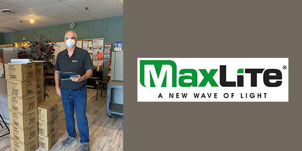 MaxLite Provides LED Bulbs to Food Pantries During COVID-19 Crisis