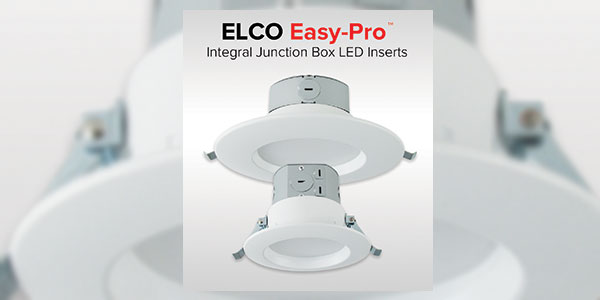 ELCO Easy-Pro Integral Junction Box LED Inserts