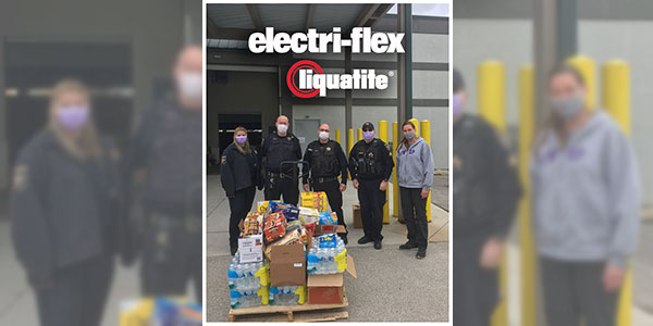 Electri-Flex Company Donates PPE to Local Emergency Management Organizations