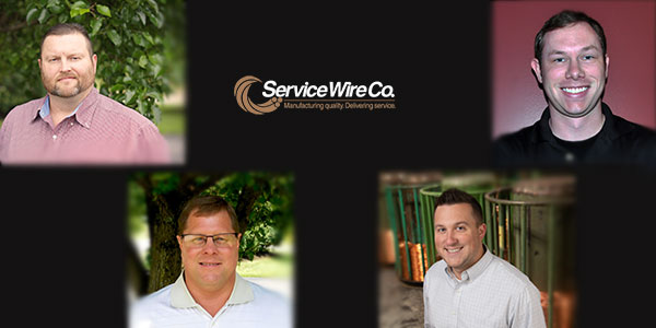 Service Wire Regional Sales Managers Assigned to New Territories