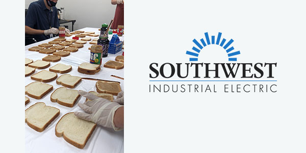 Southwest Industrial Electric Provides Lunches for Non-Profit