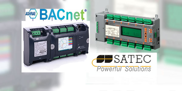SATEC Adds BACnet Protocol to Its Multi-Feeder Energy Metering Products