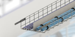 Atkore Launches New American Made Wire Basket with Quick Latching Design