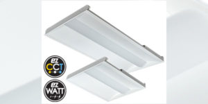 Energetic Lighting Introduces E5T LED Recessed Troffer Selectable CCT & Wattage Fixture