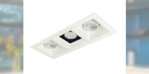 Nora Lighting Iolite LED Multiple Lighting System Now Available with Trimless Appearance