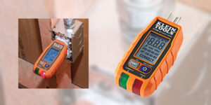 Klein Tools Launches GFCI Receptacle Tester with LCD