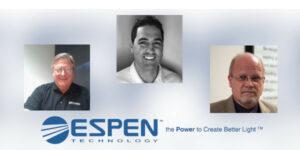 Espen Technology Announces Three Management Changes